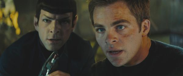 kirk&spock ©2009 Paramount Pictures